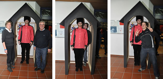 Changing Guard Donnerstag